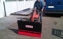 Blades , Snow plow for rototiller and for special purpose