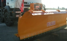 Blades , Single blade steel snow plow