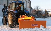 Blades , Rear snow plow