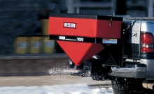 Spreaders , Electrical tailgate salt spreader , Western Plows