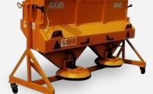 Spreaders , Hydraulic tailgate salt spreader